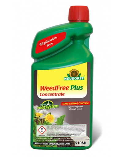 Neudorff WeedFree Plus Glyphosate Free Weedkiller Concentrate 1020ML