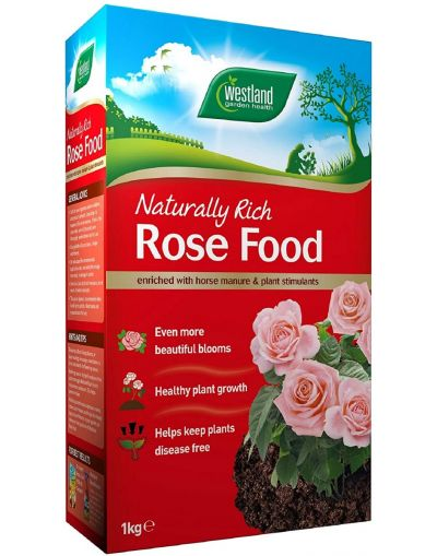 Westland Horticulture Naturally Rich Rose Food 1KG