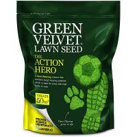 Barenbrug Green Velvet The Action Hero Lawn Seed 1.5KG