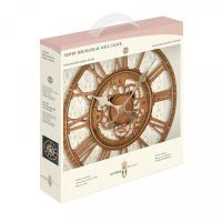 Smart Garden Newby Mechanical Wall Clock Bronze 12""