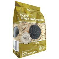 RHS Wild Bird Black Sunflower Seeds 1.5KG