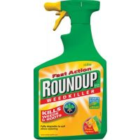 Roundup Fast Action Weedkiller Spray (Ready to Use) 1L
